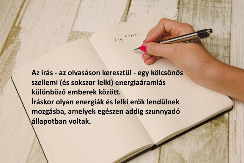 Az írás